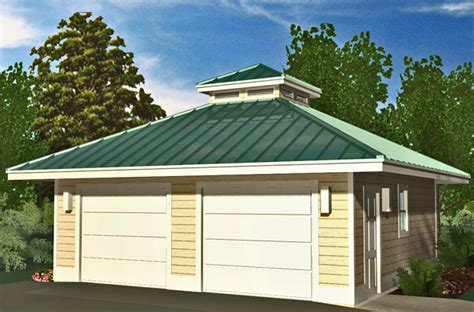 garage roof design hip garage with cupola 576 sf southern cottages