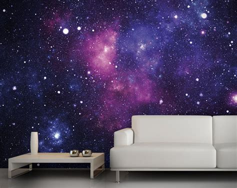 Wallpaper Galaxy For Walls | galaxy wallpaper wall mural hiconsumption