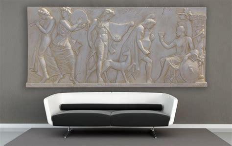 moderne wandtattoos 1960 3 d wanbild griechisches bild wand relief r 246 misches bild