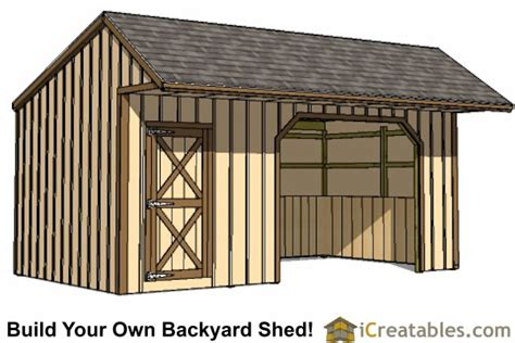 Build Your Own Shed Uk by Run In Shed Plans Building Your Own Barn Icreatables