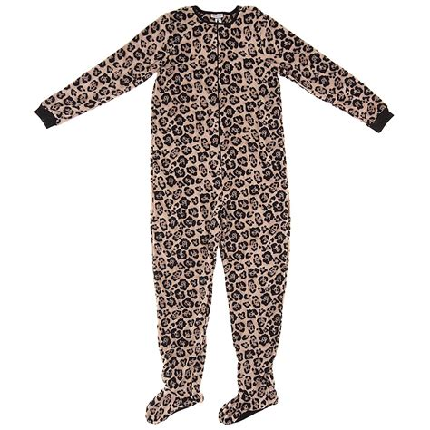 Footed Sleepers by Leopard Footed Pajamas For Click To Enlarge