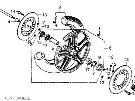 honda vt700c shadow 1984 usa carburetor components car