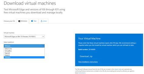 vagrant windows 10 tutorial virtuelle maschine windows 10 14361 steht zum download