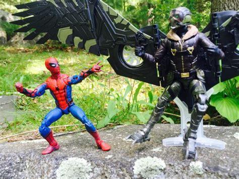 Marvel Homecoming 15cm Vulture spider homecoming marvel legends vulture review