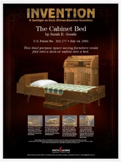 Who Invented The Cabinet Bed by E Goode The Foldaway Bed Goode Was The