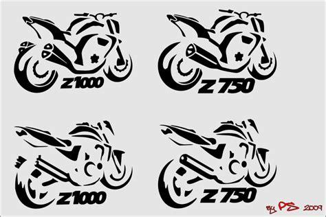 Aufkleber Für Kawasaki Z 750 by Suche Z750 Silhouette Z750 07 12 Z1000 Forum De