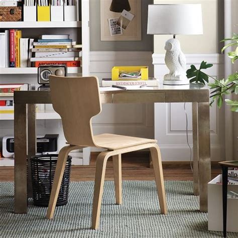West Elm Metal Parsons Desk discover and save creative ideas