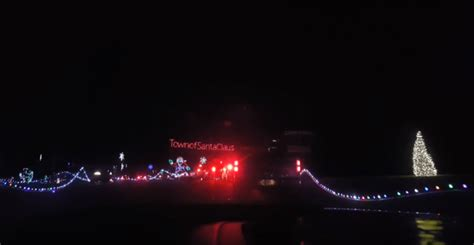 land of lights santa claus indiana 4 drive thru holiday light displays in indiana the news