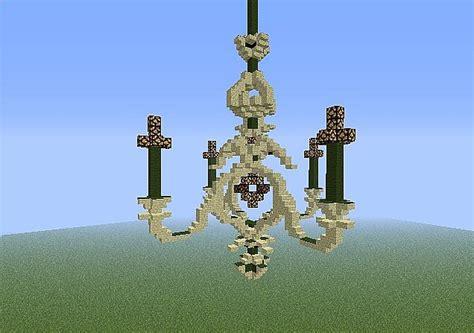 kronleuchter in minecraft chandelier minecraft project