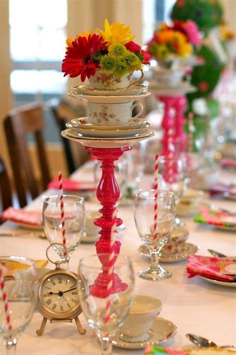 Home Decor Candle Holders by Cute Tea Party D 233 Cor Ideas Decozilla
