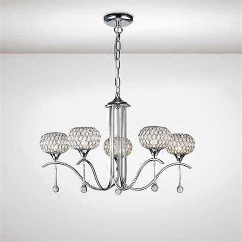 5 arm pendant ceiling light diyas chelsie 5 light multi arm ceiling pendant in