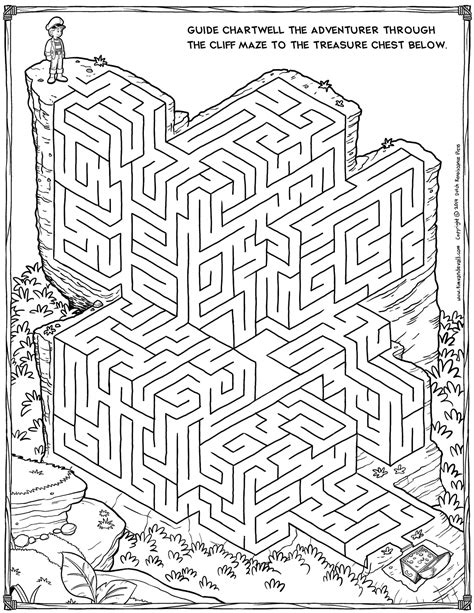printable maze sheets 5 best images of printable mazes for adults printable
