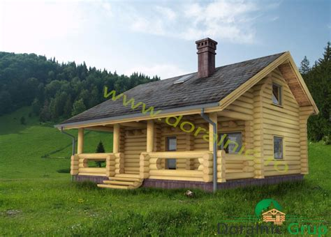 din lemn proiect doralnic 9 din busteni cabane din lemn