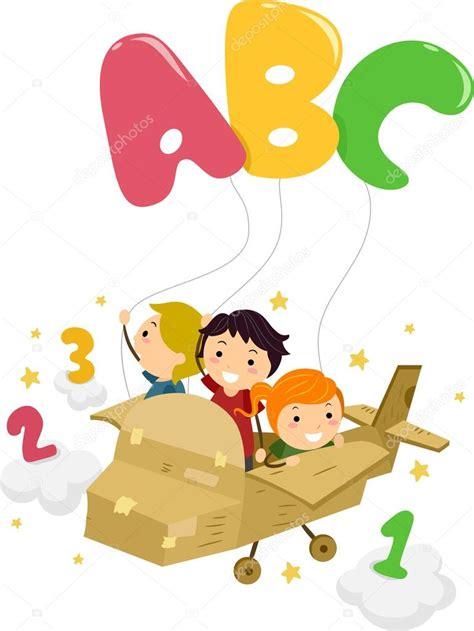 imagenes niños jugando con numeros stickman alfabeto foto de stock 12584050 depositphotos
