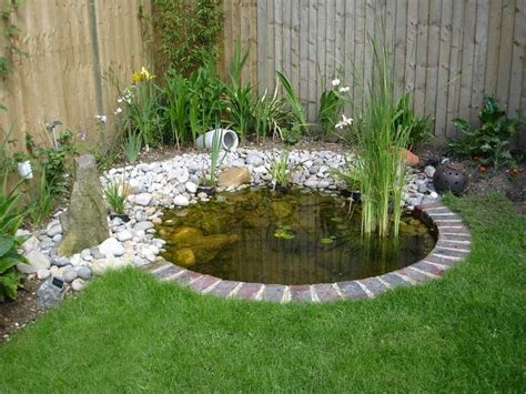 Pond Ideas For Small Gardens Small Pond Designs Small Pond Pond Designs Pinterest