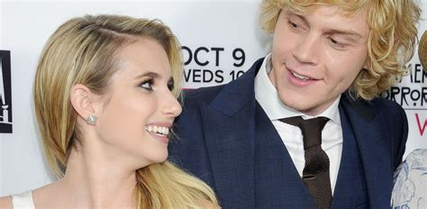 emma roberts evan peters film emma roberts says fiance evan peters thought i was so