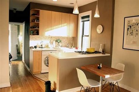 ideas for small kitchens in apartments modern console table dining sets small kitchen decorating