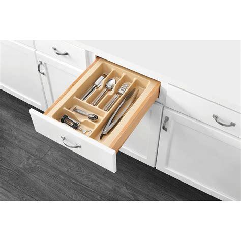 Drawer Tray Inserts by Rev A Shelf 2 375 In H X 14 25 In W X 21 25 In D Medium