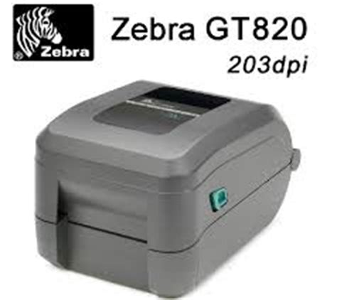 Printer Zebra Gt820 zebra gt820 barcode printer