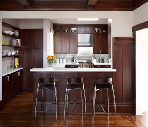 Wood Cabinet Kitchen Design 10 Black Wood Kitchen Cabinets Designs