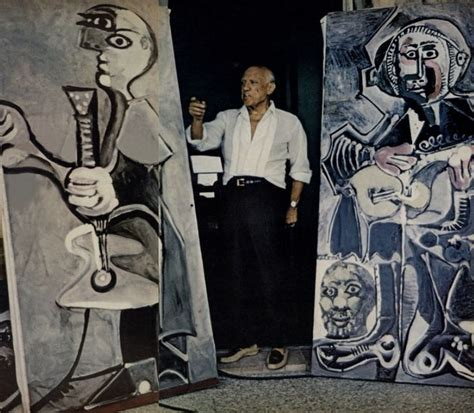picasso paintings of his picasso studio painting artists