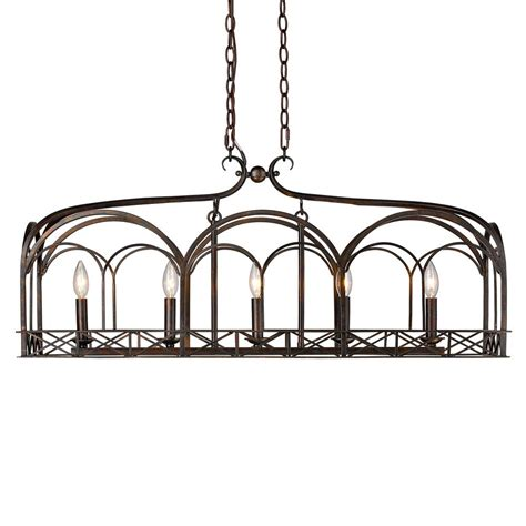 gateway lighting and fans golden lighting gateway 5 light fired bronze pendant 5815