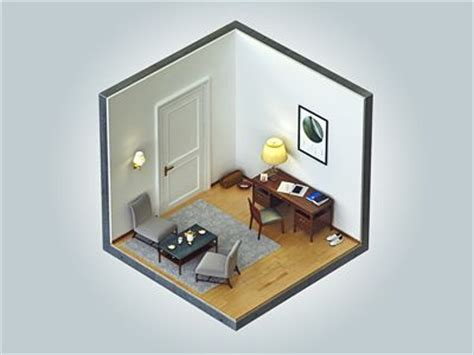 living room cubes 20 best images about isometric rooms on pinterest