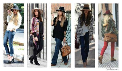 imagenes de outfits otoño invierno ponte el sombrero tambi 233 n en invierno barnachic
