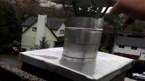 Chimney Liner And Cap - chimney cap installation on liner best method flue