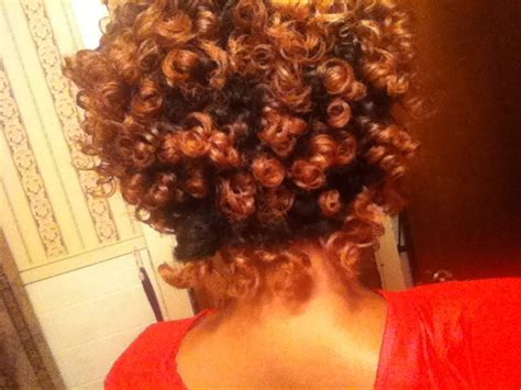 perm rod set on dry natural hair pinterest discover and save creative ideas