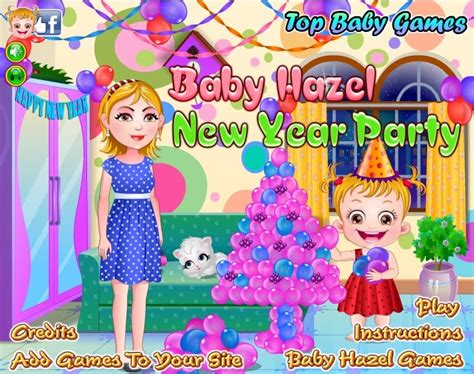 hazel new year baby hazel new year