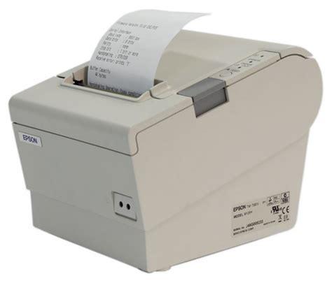 Thermal Tmt88iv 1 m129h thermal printer epson tm t88iv serial white receipt ebay