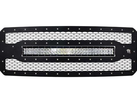 ford f250 led light bar 2011 2016 ford f 250 grille with 30 quot rds series led