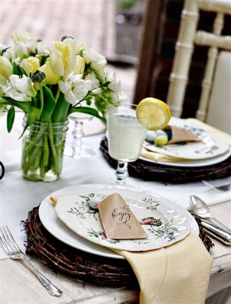 easter brunch table setting gorgeous easter spring table setting decoration ideas