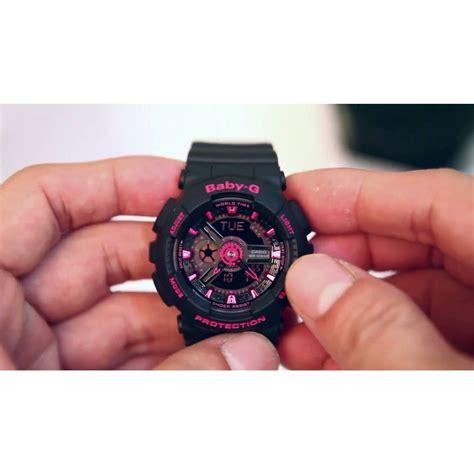 Gshock Baby G Black Pink g shock ba111 1a baby g womens analog digital