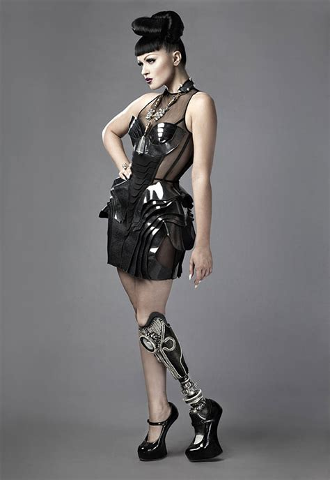 libro how the garcia girls world s first utee pop star and model shows off her badass prosthetics in music video bored