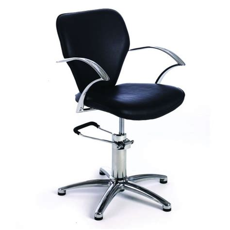 Hydraulic Styling Chair by Rem Miranda Hydraulic Styling Chair Black Only Salons Direct
