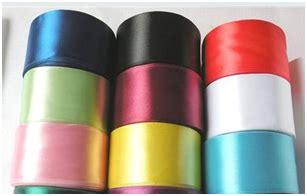 Pita Organdi Rainbow 1 5 Inci alat dan bahan membuat sulam pita tutorial sulam pita