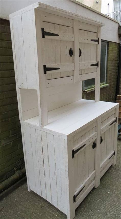 diy pallet kitchen cabinets pallet kitchen cabinets hutch 99 pallets