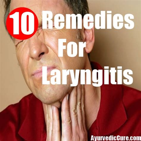 useful home remedies for laryngitis treatments
