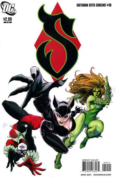 siren in the city sirens book 2 volume 2 gotham city sirens vol 1 19 dc comics database