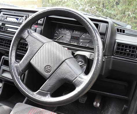 mk2 golf gti interior dashboard revival sports cars