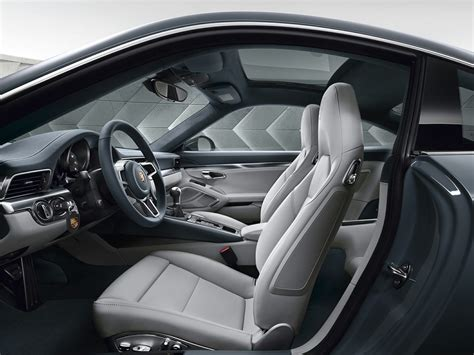 porsche hatchback interior 2017 porsche 911 price photos reviews safety