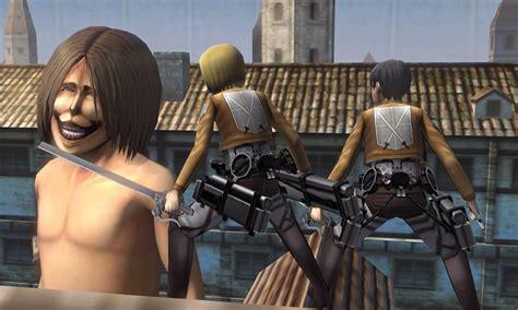 attack on titan set attack on titan avance 3ds