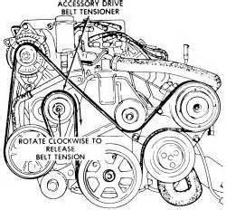 how to put on a serpentine belt on a 2000 plymouth voyager