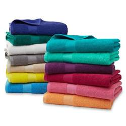 bath towels and washcloths essential home sutton cotton bath towels towels or