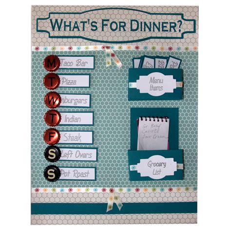Home Design Inspiration Board organization week menu board planner pazzles craft room