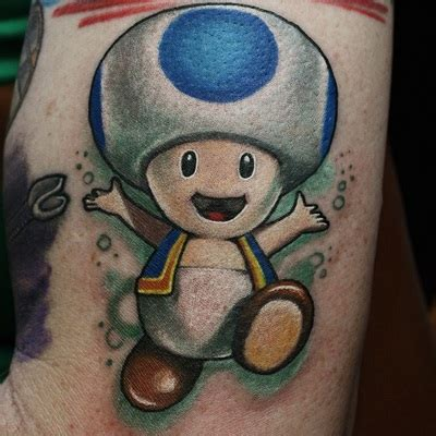 small mario tattoos mario bros toad roger s tattoos 2014 city