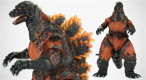 Figure Koleksi Classic Lgti 1995 neca brings back 1995 burning godzilla figure mikeshouts