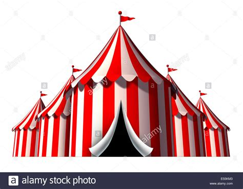 circus layout newspaper circus tent design element as a group of big top carnival